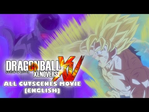 Dragon Ball Xenoverse - All Cutscenes Movie [ENGLISH]