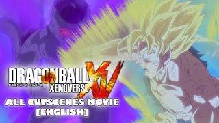 Dragon Ball Xenoverse - All Cutscenes Movie [ENGLISH]