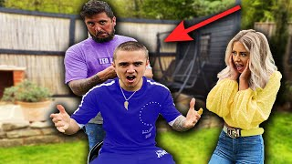 I let my Dad cut my hair!! (HE SHAVED MY HEAD!!!)