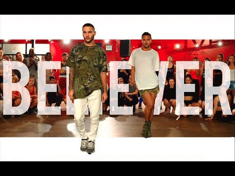 "YANIS MARSHALL & KEVIN VIVES HEELS CHOREOGRAPHY ""BELIEVER"" BY CYN."