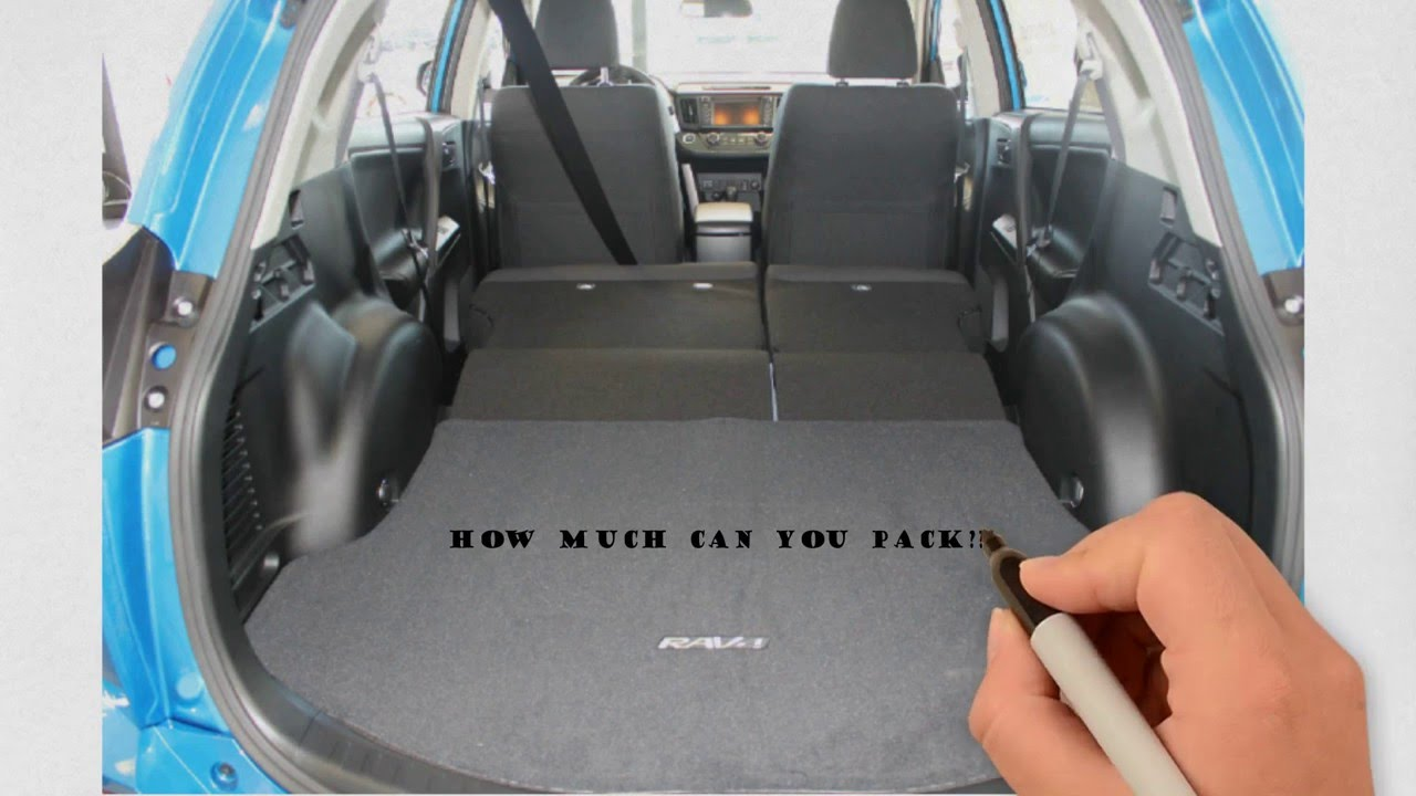 Rav4 Boot Dimensions >> Toyota Rav4 Cargo Space | Autos Post