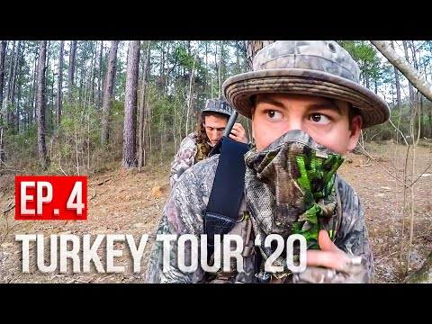 DEALING With HUNTING PRESSURE! - Mississippi Turkey Hunting