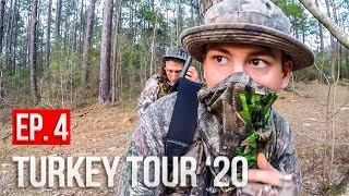 DEALING with HUNTING PRESSURE! -Mississippi Turkey Hunting