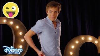 Hula Hoop Challenge Kevin Quinn Official Disney Channel UK