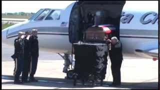 Fallen Army Ranger Sgt. Tanner Higgins Returns Home