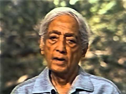 Krishnamurti / Кришнамурти 1984.05.24 Ojai, California  Question & Answer #2