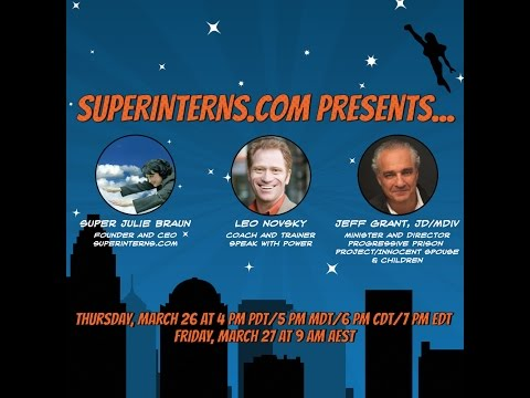 Why Ex-Offenders need Virtual Internships - Live Show Episode 12