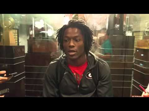 UGA Post Practice (11/5/14): Chris Conley