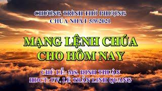 HTTL PHAN THIẾT - Chương trình thờ phượng Chúa - 05/09/2021