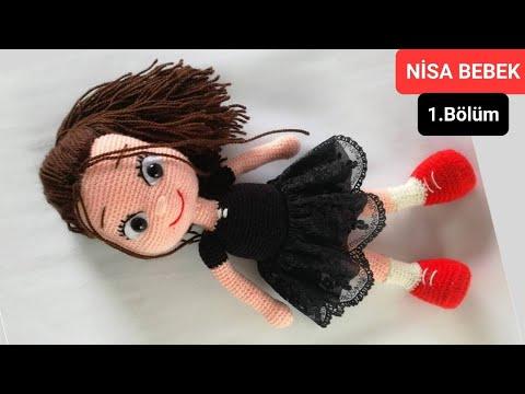 Amigurumi Şirince Bebek Yapılışı- Amigurumi Cute Doll Tutorial | 360x480