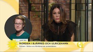 Hasse Aro om morden i Bjärred och Ulricehamn - Nyhetsmorgon (TV4)