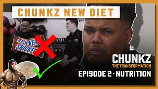 THE MOMENT CHUNKZ CUT OUT JUNK FOOD FOR GOOD | CHUNKZ THE TRANSFORMATION | EPISODE 2