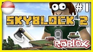 Game Roblox Terbaru Seru! - Roblox Skyblok 2 Indonesia |#1