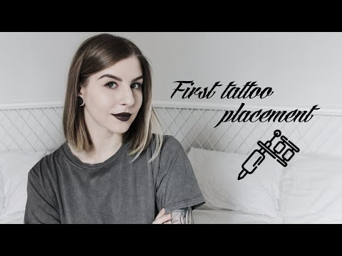 5 BEST PLACEMENTS WHERE TO GET YOUR FIRST TATTOO