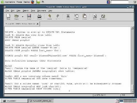 22 Mysql Database   DDL ALTER 1