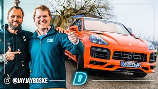 SHMEE X DAY1 680HP TECHART CAYENNE COUPÉ! DAY1 WORLD OF CARS // Daily Driver DAY1