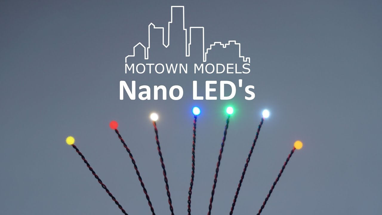 Introducing NANO LED's by Motown Models