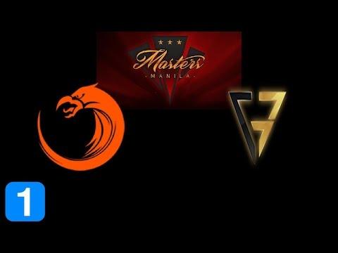 TNC vs Clutch Gamers Game 1 Masters Manila 2017 Highlights Dota 2