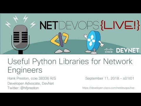 Useful Python Libraries for Network Engineers