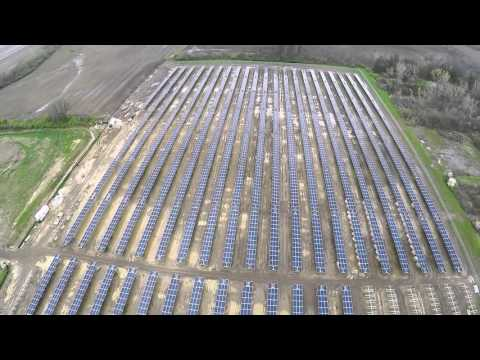 Clyde Solar Project Drone
