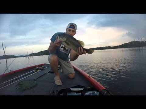 Bass Fishing Cedar Creek Lake Kentucky #1