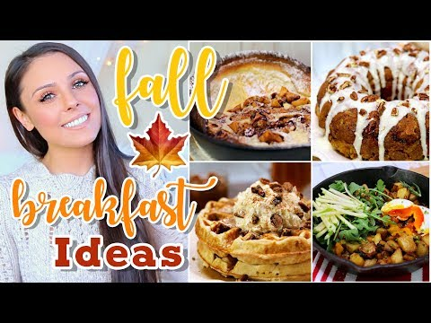 YUMMY FALL BREAKFAST IDEAS FOR WEEKENDS! VEGETARIAN + INSANELY DELICIOUS! Kristi-Anne