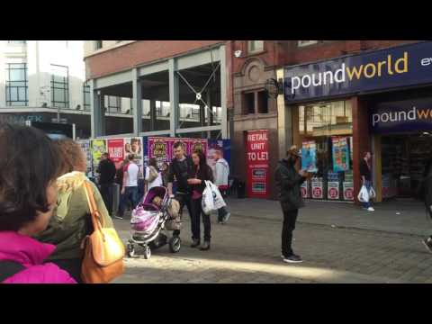 Manchester city centre -The city of Multi Culture