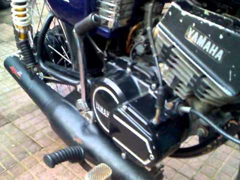 Yamaha RX 135- Nitesh