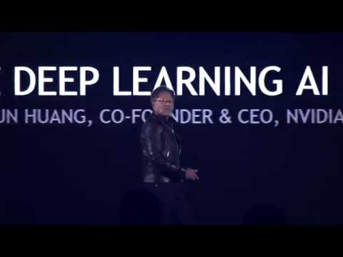 2016 GTC CHINA NVIDIA GPU AI, Deep Learning with Jen Hsun Huang & Baidu's Andrew Ng