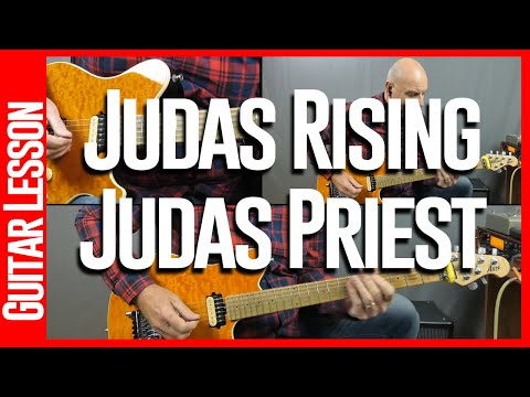 Judas Rising By Judas Priest - Guitar Lesson