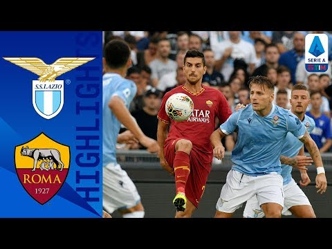 Lazio 1-1 Roma   Luis Alberto Strike Rules Out Early Roma Penalty!   Serie A