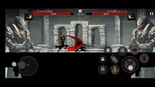 LEAGUE || SHADOW OF DEATH; DARK KNIGHT - STICKMAN FIGHTING screenshot 2