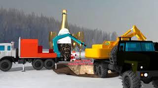 Поздравление с Новым годом нефтяников и газовиков!