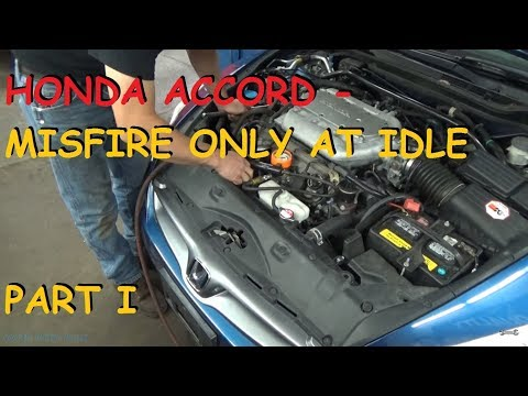 Honda Accord - Slight Miss At Idle - Case Study