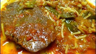 Crock Pot / Slow Cooker Meal - Beef Chuck Tender Steaks with Tomatoes, etc.