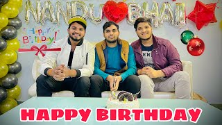 Happy Birthday Nandu Bhai | i am Nitin | the mridul