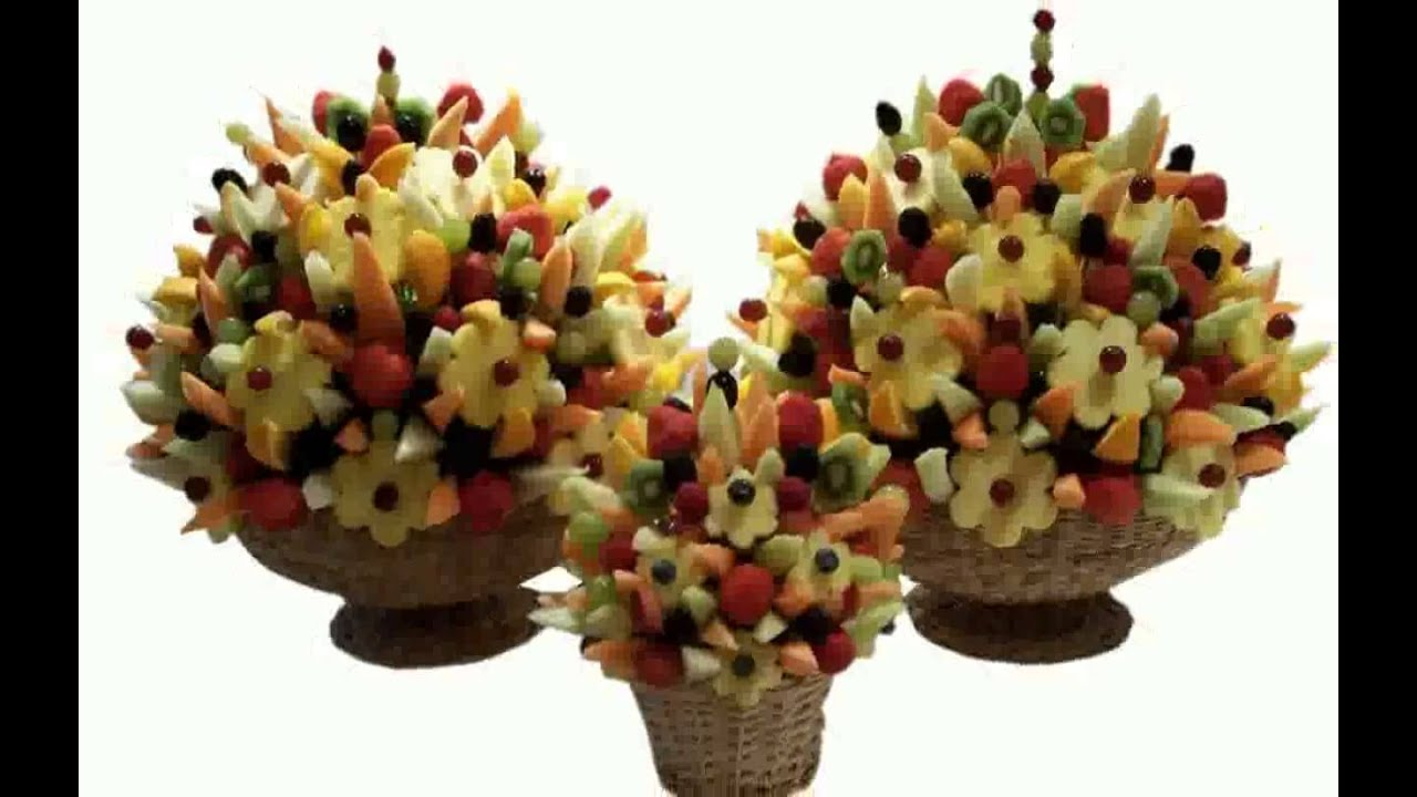 Fruit bouquet youtube Fruit bouquet