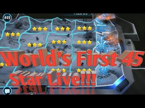 Worlds FIrst 45 Star!!! Stream Star Wars™: Galaxy of Heroes