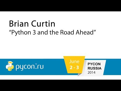 Image from Python 3 and the Road Ahead