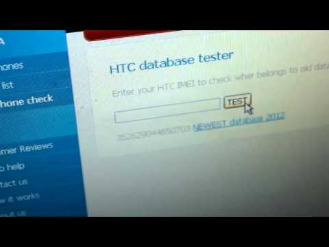 how to unlock HTC 7 mozart using sim-unlock.net