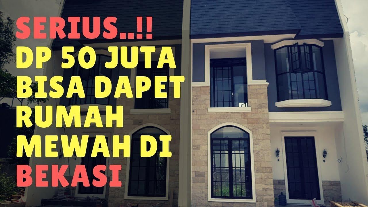 Gokil.. Rumah Keren di Bekasi cuma DP 50 juta aja ...
