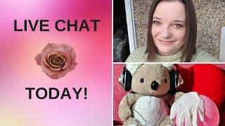 Lisa Rose ASMR Live Stream Let's Chat!