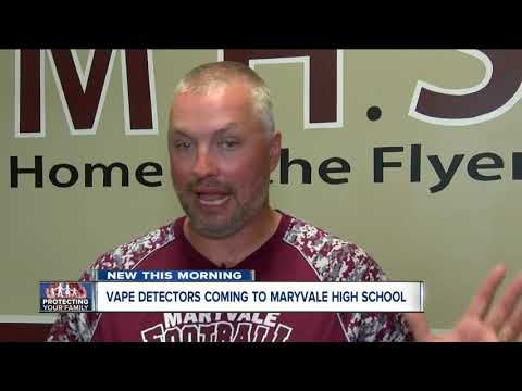 Maryvale High School to install vaping detection sensors throughout the school