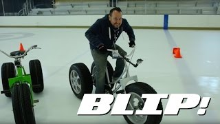 Here's Why You Need Winter Tires As Shown By A Tricycle