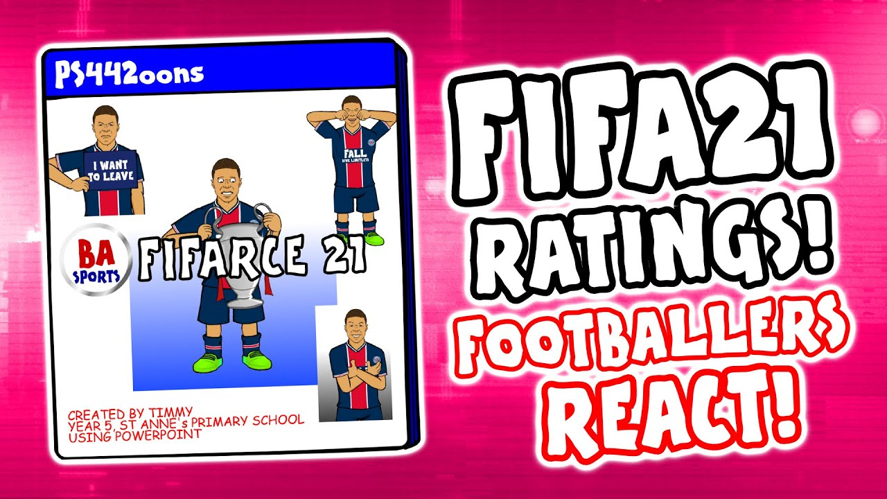 ?FIFA 21 Ratings - Footballers React!? (Feat Messi, Ronaldo, Neymar, Lewandowski trailer demo)