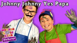 Johnny Johnny Yes Papa + More | Mother Goose Club Dress Up Theater