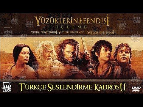 Yüzüklerin Efendisi Serisi (2001-2002-2003) Türkçe Dublaj Kadrosu (Yüzüklerin Efendisi Üçleme)