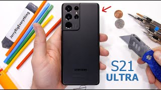 Galaxy S21 Ultra Durability Test - What About the Camera?!