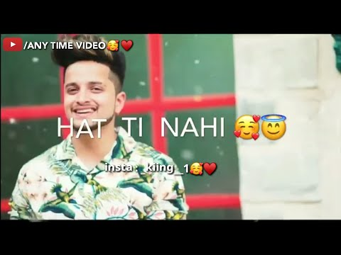 REPLY TO VAASTE | TUSHAR ARORA |whatsapp Status |new Song | Vaaste 2 | Any Time Video