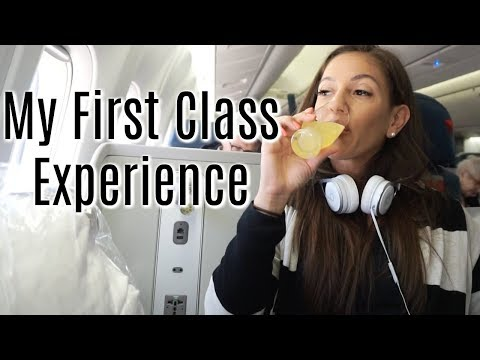 Flying FIRST CLASS  with Delta 1